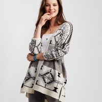 Fair Isle Statement Cardigan