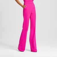 Women's Fuchsia Twill Flared Trouser - Victoria Beckham for Target : Target