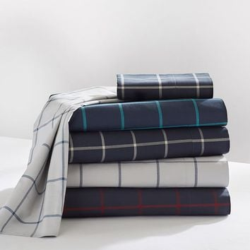 Boxter Plaid Sheet Set