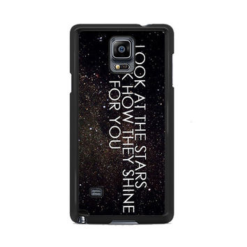 Coldplay the scientist quotes Samsung Galaxy Note 3 | 4 Cover Cases