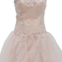 Dressystar Short Prom Dress for Juniors