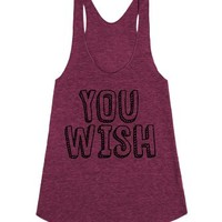 You Wish-Unisex Tri Cranberry Tank