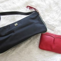 Lot of Kate Spade handbag shoulder bag NWT Dooney and Bourke red wristlet wallet