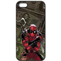 "Marvel Deadpool (""Gimme My Money"") TPU Bumper for Apple Iphone 5 /5s /SE"