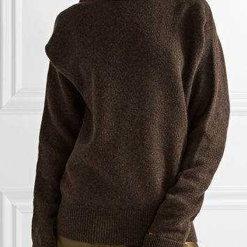 Joseph - Cape-effect wool turtleneck sweater