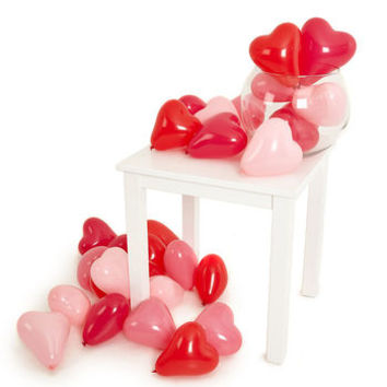 Loved Up Heart Mini Balloon Pack