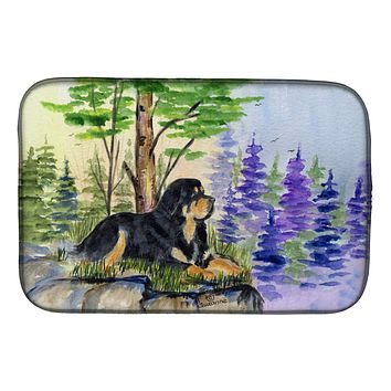 Tibetan Mastiff Dish Drying Mat SS8007DDM