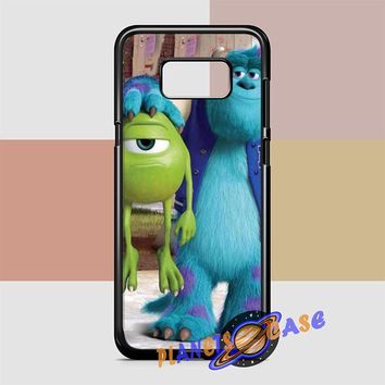 Monsters Inc sulley holding mike Samsung Galaxy S8 Case Planetscase.com
