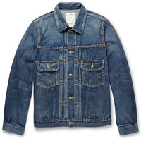 Visvim - 101 Washed-Denim Jacket | MR PORTER