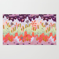 Crystal Forest Rug by Lord Of Masks