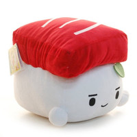 "SUSHI 12"" TUNA Plush Throw Pillow Cushion Doll Toy Gift Bedding Japan Food"