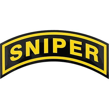 U.S. Army Sniper Large Decal