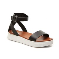 Ellen Platform Sandal in Black