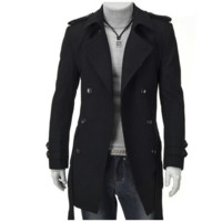 Sherlock Collection - Fine Woolen Trench Coat