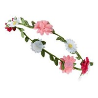 New Look Mobile | Teens Pink and White Floral Garland