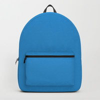 Twitter Blue Backpack by spaceandlines