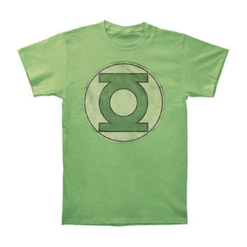 Green Lantern Men's  T-shirt Green Rockabilia