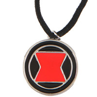 Marvel Avengers Black Widow Logo Cord Necklace