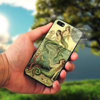 Vintage Mermaids case for Note 2|3\iPod 4th|5th\HTC One\Samsung Galaxy S3|S4|S5\LG Nexus\iPhone 4|4s|5c|5|5s|6|6+