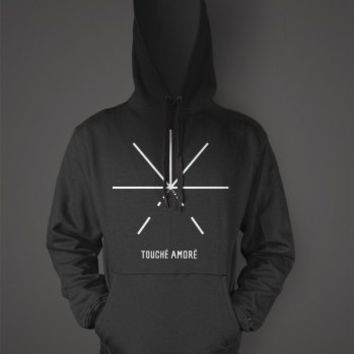 Touche Amore - PTSBBAM pullover hoodie | Hellfish Family