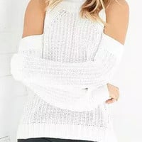 White Long Sleeve Sweater