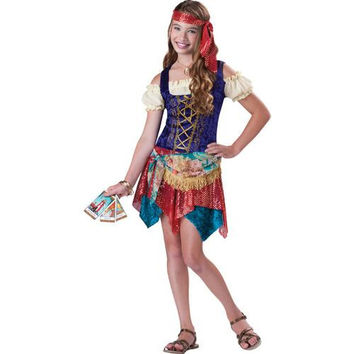 Girl's Costume: Gypsy's Spell | Large