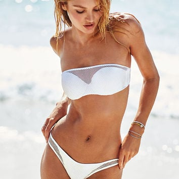 The Mesh Beach Bandeau - Beach Sexy - Victoria's Secret
