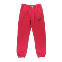 Nike Womens French Terry Drawstring Sweat Pants