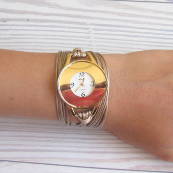 Delicate And Elegant Ladies Watch - Ladies Accessories - Wrist Watches - Decorated Watches - Women's Watches