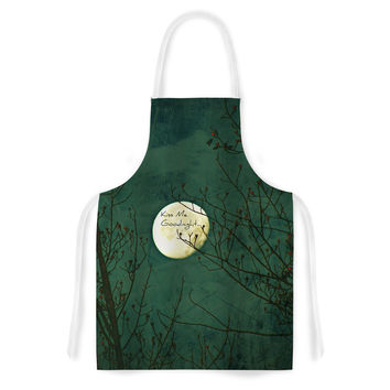"Robin Dickinson ""Kiss Me Goodnight"" Artistic Apron"