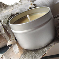 Soy Candle - Beer scented Soy Candle Tin -- 4 ounce Tin -- Man Friendly Candle