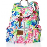 Bright Floral Backpack
