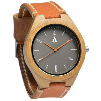 Wooden Watch // Mina Rustic Amber