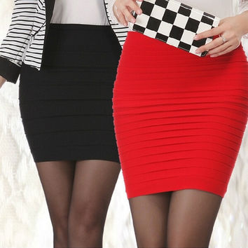 Short Sexy Women Skirts Women Clothing High Waist Seamless Lady's Mini Skirt Saias Femininas Candy Color = 1958634052
