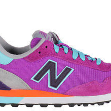 New Balance Womens Classic Sneakers 515 Violet/Blue Light WL515BOO