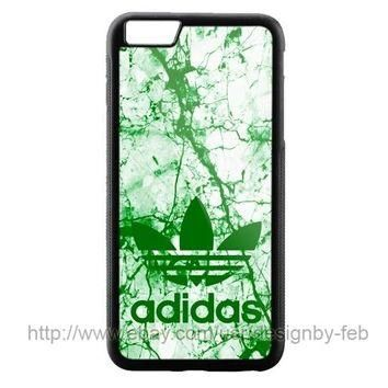 New Adidas Marble White Green For iPhone 8 8+ 7 7+ 6 6+ 6s 6s+ 5 5s Samsung Case