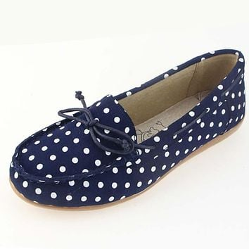 Autumn women ballet basic flats shoes women slip on point style flats female leather suede loafers moccasins shoes