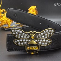 Gucci Belt Men Women Fashion Belts 538096