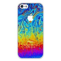 iZERCASE Colorful Abstract RUBBER iphone 5 case - Fits iphone 5, iPhone 5S T-Mobile, AT&T, Sprint, Verizon and International