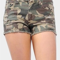 Damage Control Shorts - Army