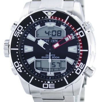 Citizen Aqualand Promaster Diver's 200M Analog Digital JP1090-86E Men's Watch