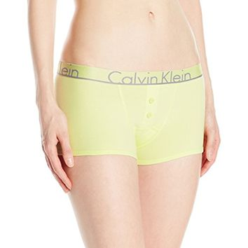 Calvin Klein Women's Id Cotton Large Waistband Trunk Panty