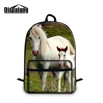 Boys bookbag trendy Dispalang Animal Picture of School Backpack for Children Boys Personalized  Girls Traveling Bag Notebook bag for 14 inch AT_51_3
