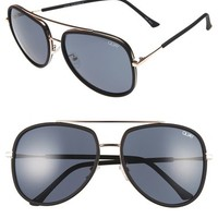Quay Australia 'Needing Fame' 65mm Aviator Sunglasses | Nordstrom