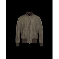 Moncler Down-Quilted Varsity Jacket