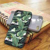 Banana Leaf Martinique Floral iPhone 5C Case