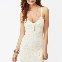 Aurora Lace Dress - Ivory