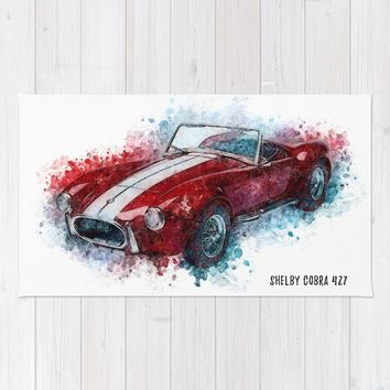 Shelby Cobra 427 Rug by naumovski