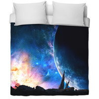 Galaxy Bed Blanket.