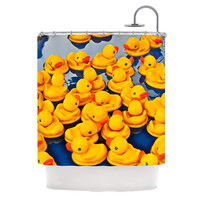 "Maynard Logan ""Duckies"" Shower Curtain, 69"" x 70"" - Outlet Item"